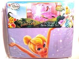 Disney SHEET SET FAIRIES - Twin