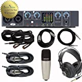 51807d8qmoL. SL160  Best Price on Focusrite Saffire Pro 24 DSP Recording System Interface Bundle with Studio Microphone, Headphones, and Cables  Reviews