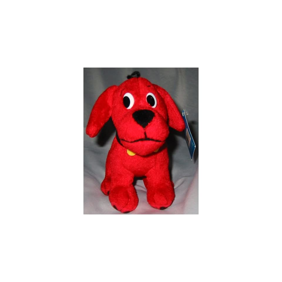 Clifford The Big Red Dog 6 Plush with Baseball Cap