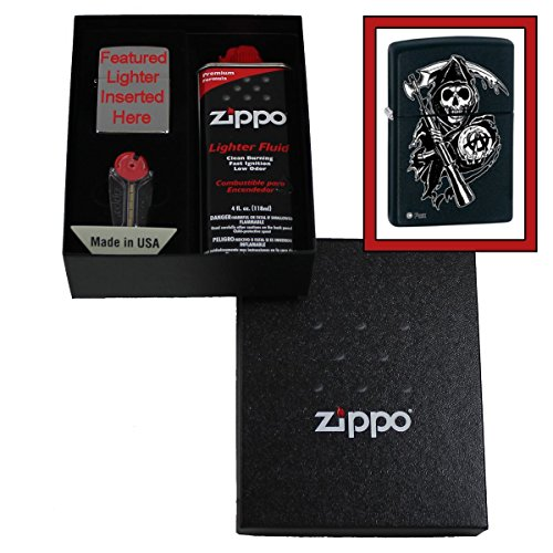 """Sons Of Anarchy"" Grim Reaper Lighter Gift Set"