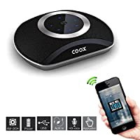 COOX Portable Wireless Stereo Mini HiFI Bluetooth Speaker mp3 Subwoofer and Boom box Outdoor Speaker  with 4 unit Speaker  for IOS and Android Smartphone- inbuilt rechargeable battery- high quality compact size- very small size and handy- compatible with all mobile phones  tables  laptop  computer and many more devices sony  Samsung  iphones  apple  micromax  iball  moto  one plus  mi  intex  hp  asus  lenevo  amazon  google nexsus-black