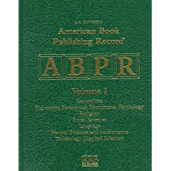 American Book Publishing Record Cumulative 1997 (American Book Publishing Record: Cumulative)