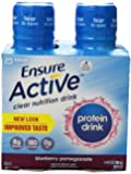 Ensure Clear Nutritional Drink - Blueberry Pomegranate - 4 Pack