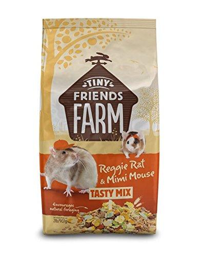 Supreme Petfoods Tiny Friends Farm Reggie Rat & Mimi Mouse Food, 2 lb (Mouse Food compare prices)