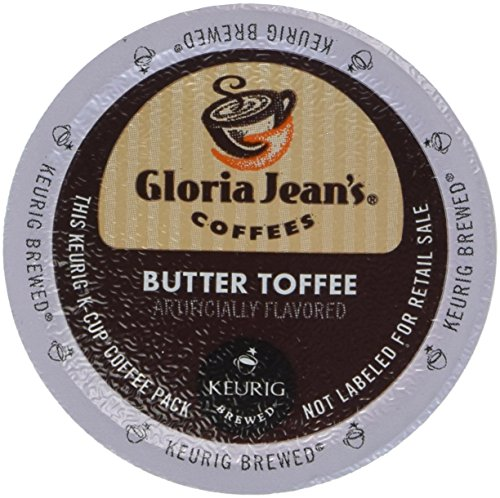 Keurig K-Cup Gloria Jeans Butter Toffee Coffee - 24 K-Cups (K Cup Coffee Toffee compare prices)