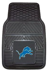 FANMATS NFL Detroit Lions Vinyl Heavy Duty Vinyl Car Mat by Fanmats