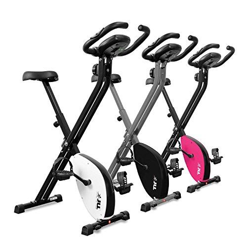 JLL VX Magnetic Resistance Foldable Home Exercise Bike (Black)