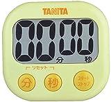 タニタ でか見えタイマー100分 イエロー TD-384-YL