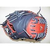 Akadema Torino Custom Series APM42 APM43 APM40 Baseball Catchers Glove - Navy & Red... by BTS