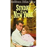 Sunday in New York [VHS] ~ Rod Taylor