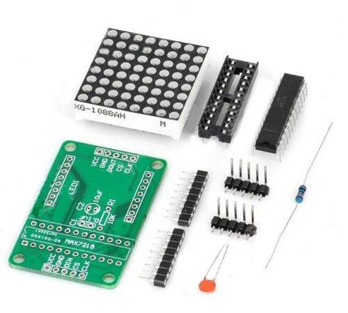 Diy Max7219 Red Led Dot Matrix Display Module For Arduino - Green