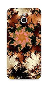 Amez designer printed 3d premium high quality back case cover for Infocus M2 (Abstract Design)