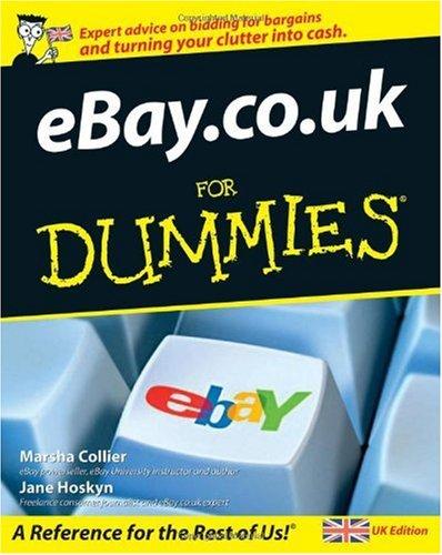 eBay.co.uk for Dummies, UK edition