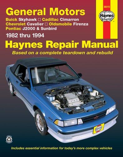 General Motors J-Cars Automotive Repair Manual : 1982 Through 1994, LARRY WARREN, JOHN H. HAYNES