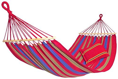 Amazonas-EL-1070000-Aruba-cayenne-Hngematte-Belastbarkeit-150kg-Liegeflche-210-x-120cm