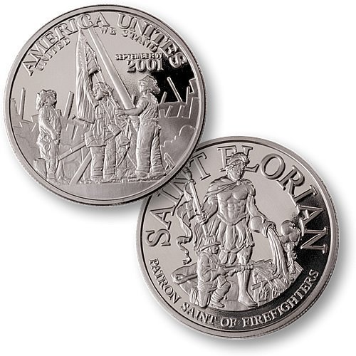America Unites Nickel Proof-like Challenge Coin - 1