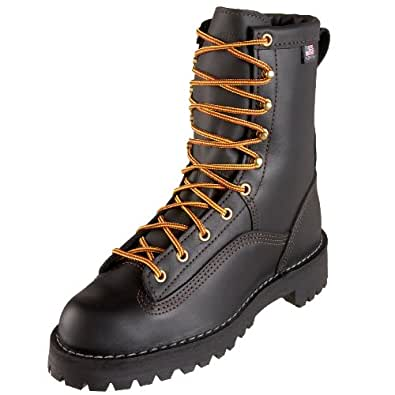Danner Women S Rain Forest Black Uninsulated W Work Boot
