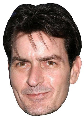 CELEBRITY FACE MASK KIT - Charlie Sheen - DO IT YOURSELF (DIY) #1 by DIY Celebrity Masks [並行輸入品]
