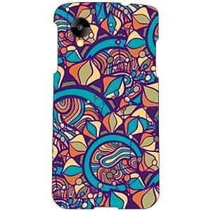 LG Nexus 5 LG-D821 Back Cover - Rock N Roll Designer Cases