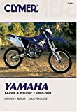 img - for Yamaha Yz250F & Wr250F 2001-2003: Service, Repair , Maintenance book / textbook / text book