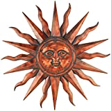 Regal Art and Gift Copper Patina Sun 40