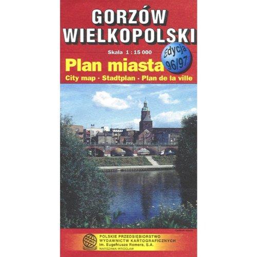 Gorzow Wielkopolski City Map