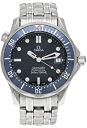 Omega Seamaster 300m Midsize Quartz quartz blue unisex-adult Watch 2541.80.00 (Certified Pre-owned)