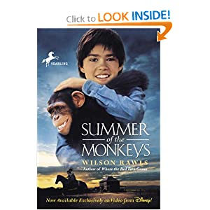 a summary of the novel summer of the monkeys by wilson rawls Wilson rawls was born on september 24 home rawls, wilson biography of wilson rawls one more book, the summer of the monkeys, in 1976 this, too, became a.
