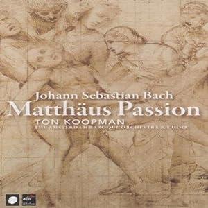 Bach: Matthaus Passion (Ton Koopman) [DVD] [2006]