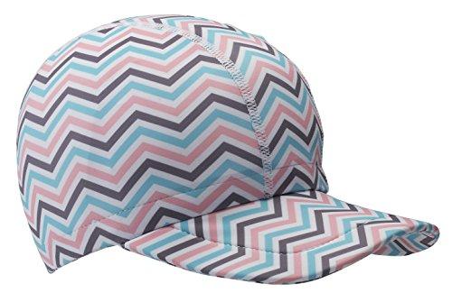a0597f845fa3c The Original Swimlids UPF+ Sun Hat ... Zag Print Hat (XL)