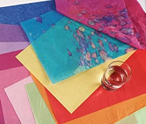 Spectra Art Tissue Paper Assortment - 15 x 20 inches - Pack of 50 - Assorted Colors