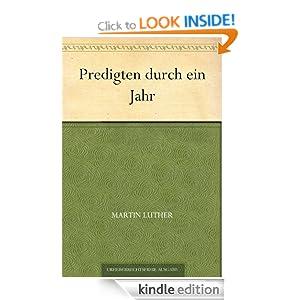 Predigten durch ein Jahr (German Edition) Martin Luther