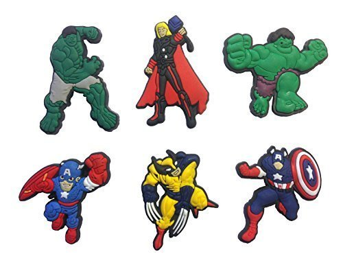 Avengers Fridge Magnets 6 Pcs Set #1