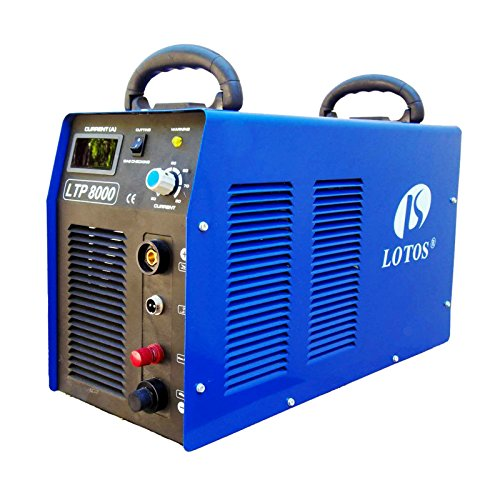 Lotos-LTP8000-80Amp-Non-Touch-Pilot-Arc-Air-Plasma-Cutter-1-Inch-Clean-Cut