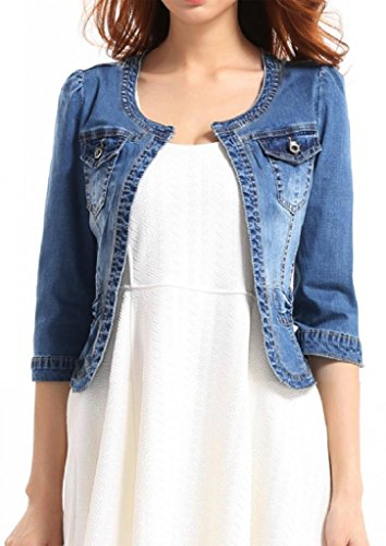 Denim jacket short sleeve - Compare Prices & Store Ratings at kumau.ml