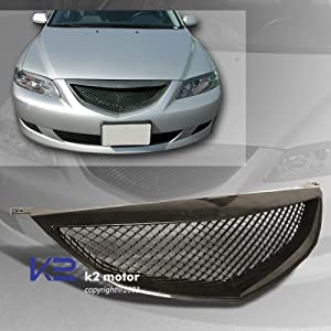 mazda 6 4dr jdm front sports grille grille. Black Bedroom Furniture Sets. Home Design Ideas
