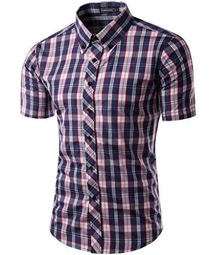 goewa-camicia-casual-uomo-red-white-asiatico-l-us-s