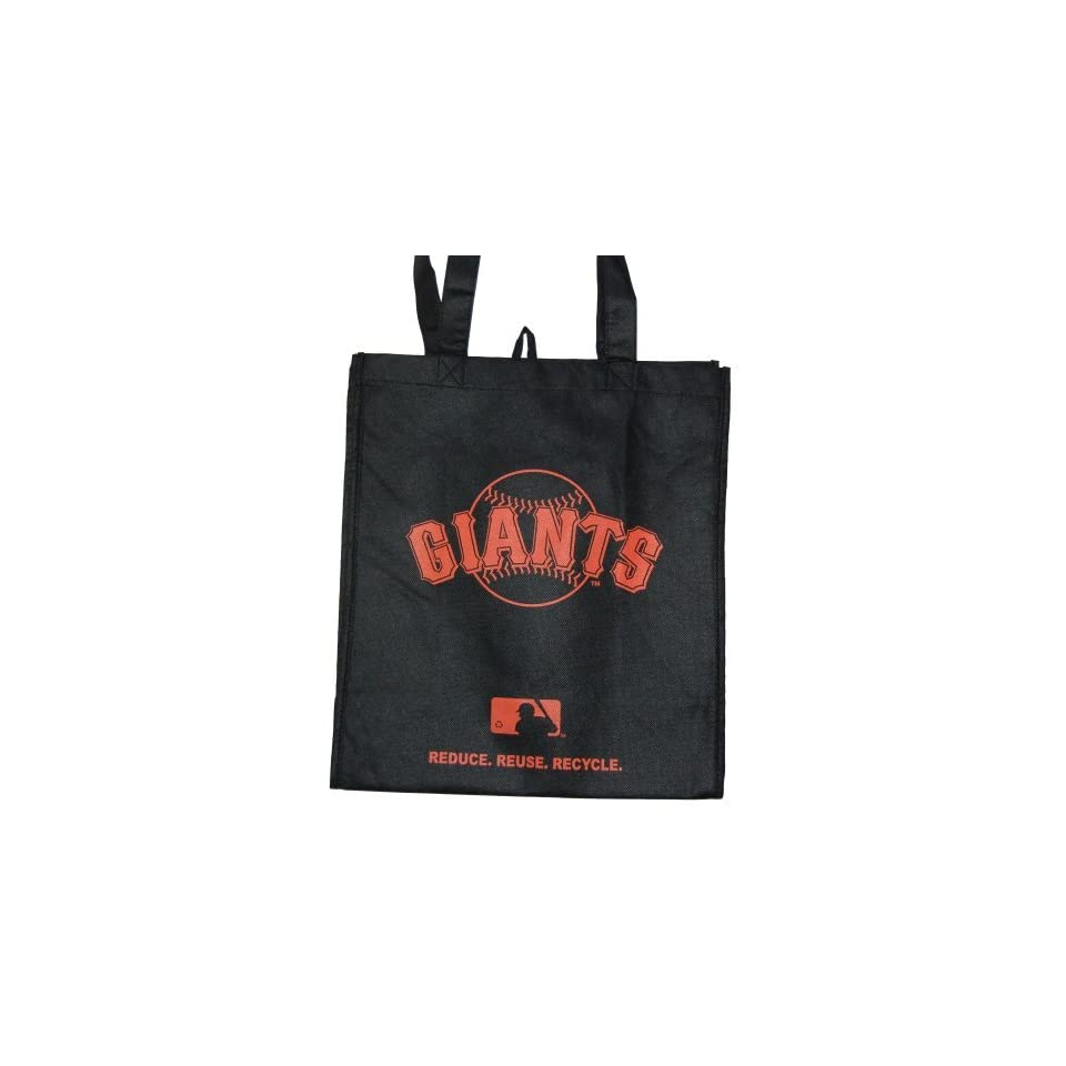 New Eco Friendly Reduce Reuse Recycle MLB San Francisco Giants Tote Bag