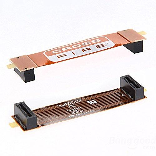 Tableaux Long ATI CROSSFIRE électronique pont ordinateur connecctor 10cm 100mm 4