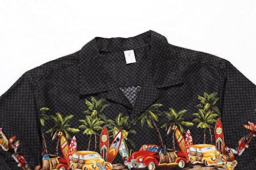 Palm Wave Men's Hawaiian Shirt Aloha Shirt 2