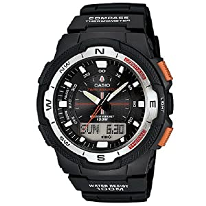 Casio SGW500H-1B and SGW500H-2B Twin Sensor Compass Thermometer Watch