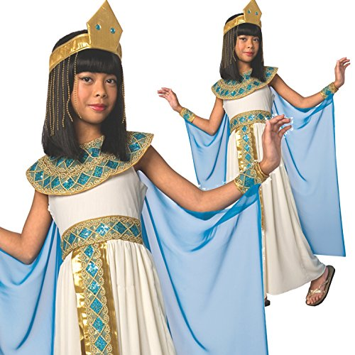 [Girls Egyptian Queen of the Nile Cleopatra Costume - 5 Piece Quality Costume] (Halloween Costumes Egyptian)
