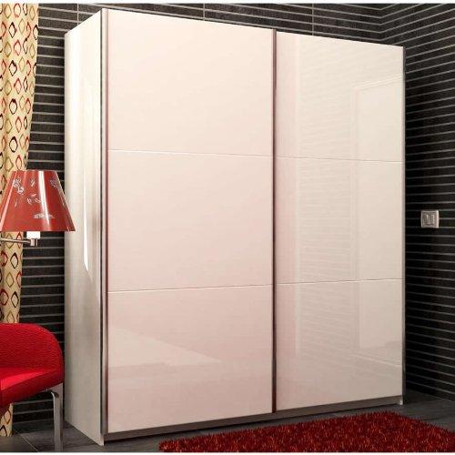 armadio-due-ante-scorrevoli-colore-bianco-e-laccato-bianco-lucido
