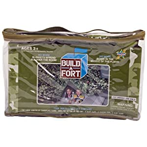 Be Amazing Toys Build - A - Fort Green Camo Tent by Be Amazing