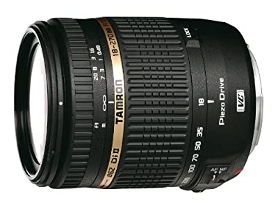 Tamron AF 18-270mm f/3.5-6.3 PZD All-In-One Zoom Lens with Built in Motor for Sony DSLR Cameras (Model B008S) - International Version (No Warranty)
