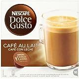 Nescafé Dolce Gusto - Café Con Leche - Cápsulas de café - 16 cápsulas