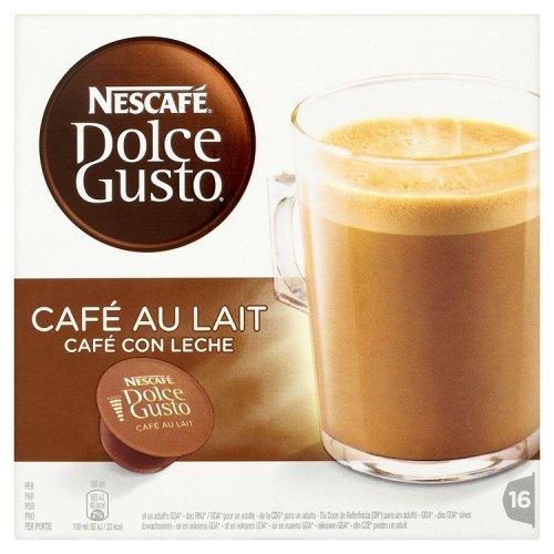 NESCAFÉ Dolce Gusto Café au Lait 16 Capsules 160 g