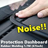 Auto Noise Protection Dashboard Rubber Strip Molding 67inch 1.7m for HYUNDAI 2007-2016 Starex / i800 Sold by Good forum