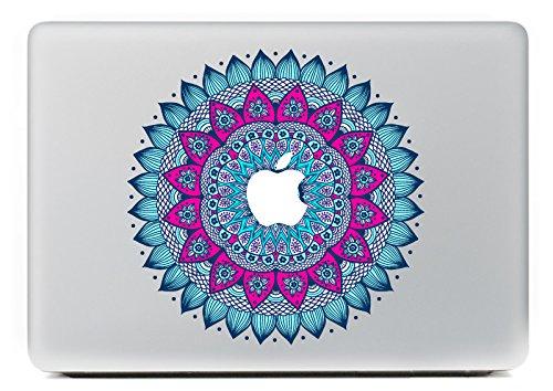 """NetsPower® New World Fashion Modello Colorato Vinyl Decal Sticker Adesivo Adesivi Power-up Art Nero per Apple MacBook Pro/Air 13"""" 15"""" - Bei Modelli"""