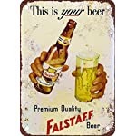 Stay Drunk My Friends Tin Sign 13 x 16in